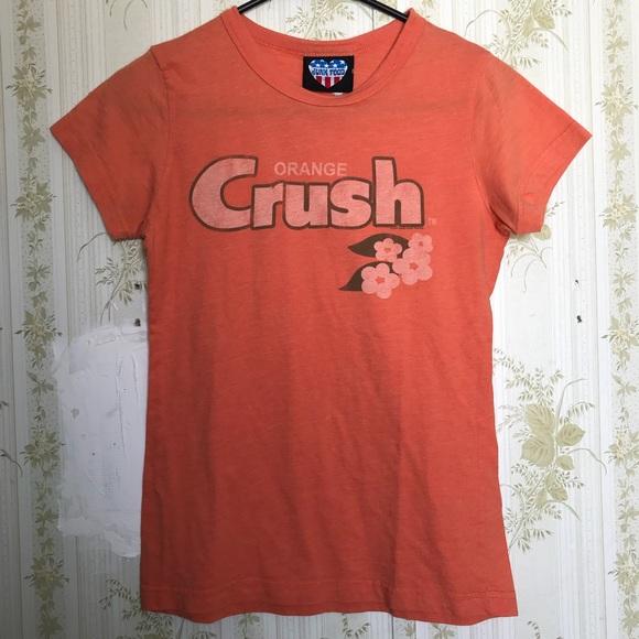 d90b3f03e41f Junk Food Clothing Tops - Junk Food orange crush top
